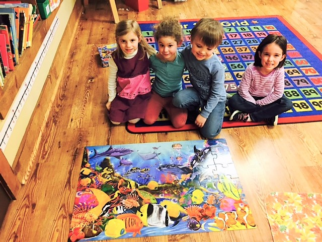 puzzle art play to learn